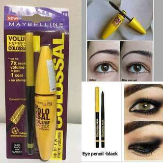 Maybeline 2in1 mascara and eyeliner pencil