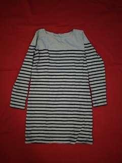 Muji grey knit  dress
