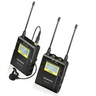 🚚 Saramonic UwMic9 RX9+TX9 UHF Wireless Lavalier Microphone System *NEW*