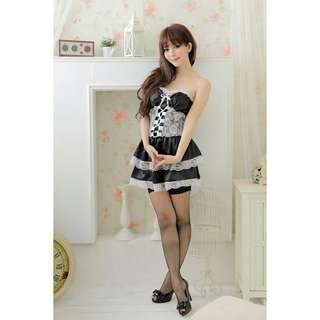 SL030 Sexy Maid Costume Roleplay Cosplay Lingerie