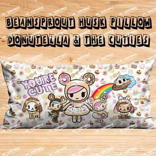 Beansprout Husk Pillow - Donutella & the Cuties
