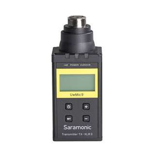🚚 Saramonic UwMic9 TX-XLR9 Plug-on XLR Transmitter for the UwMic9 Digital UHF Wireless Microphone System *NEW*