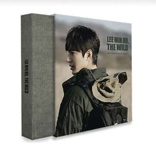 LEE MIN HO - LEE MIN HO, THE WILD [Limited Edition] Photobook + Card + Holder