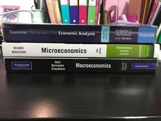 EC2101 EC2102 EC2104 Textbook bundle