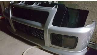 Daihatsu Coure Tr Front Bumper with Fog Lamp