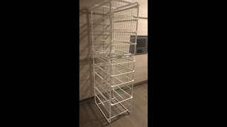 Ikea storage system/drawers