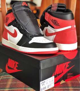 """Air Jordan 1 """"Best Hand in the Game"""" Track Red"""