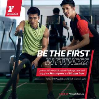Fitness First Platinum ($0 startup fee + AIA Vitality special)