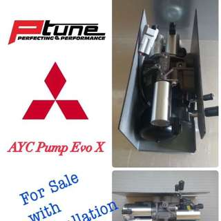 AYC Pump And Replacement For Evolution X