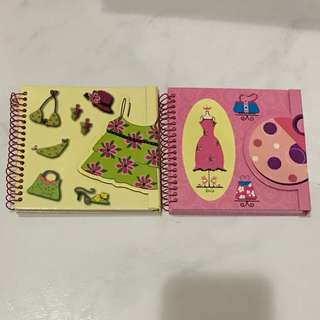 Magnetic Snap Note Book