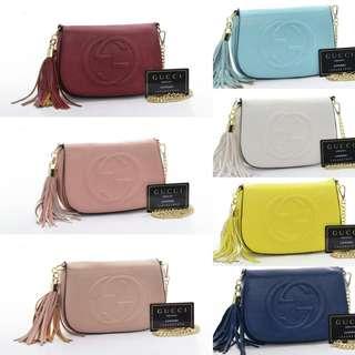 Gucci Soho Flap Bag 7740