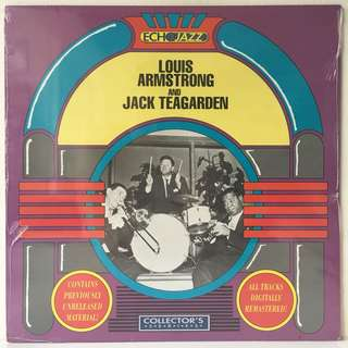 Louis Armstrong, Jack Teagarden ‎– Louis Armstrong And Jack Teagarden (1989 UK Original - SEALED - Mint)