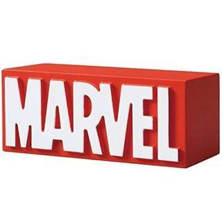 WTB Takara TOMY MetaColle Marvel Logo Collection Red Metal Figure Diecast Ds88943
