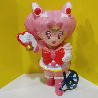 美少女戰士 Sailor Moon 豆釘兔 小小兔 figure 膠錢罌 絕版 1995年 全新品,只開盒拍照