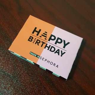 BNIB Sephora HAPPY BIRTHDAY Duo Blush Palette