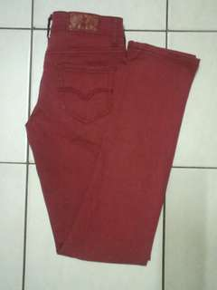Maroon Long Pant