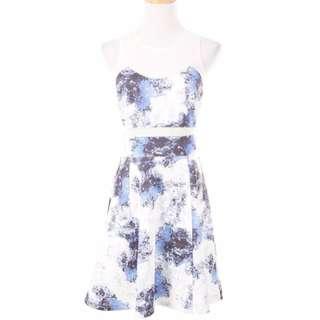 Print Sheath Dress, love bonito