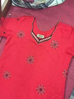 (BN) Promotion for this week-Red Febrish Lucky Noble Kurti