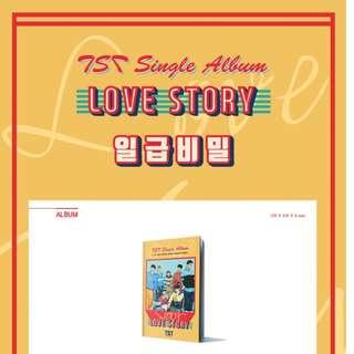 [PREORDER] TST TopSecret 일급비밀 - LOVE STORY