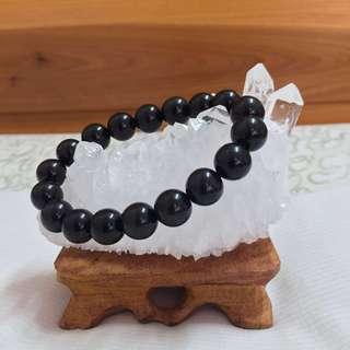 [新手入門必備] 黑曜石 Rainbow Obsidian水晶手鏈
