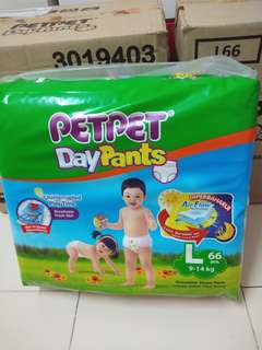 5 Bags of Pet Pet Daypants Megapack L66