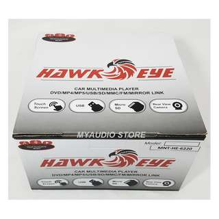 HAWKEYE MNT-HE-6220 2 DIN MULTIMEDIA PLAYER
