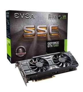 EVGA GTX 1060 SSC
