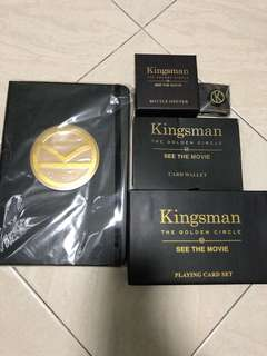 Kingsman merchandise