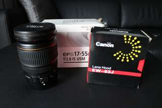 Canon EFS 17-55mm IS USM