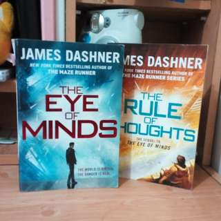 The Eye of Minds by James Dashner (Book 1 and 2)