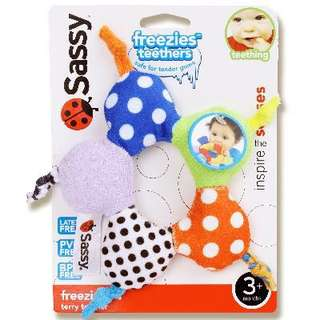 Sassy freezies teether
