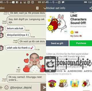 Sticker Line Available