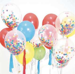 Confetti for Helium Balloons