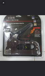 Stapler gun with bullet