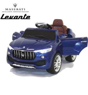 Maserati Levante Kids 6v Ride on Battery Operated Electric Toy Car with Remote Control