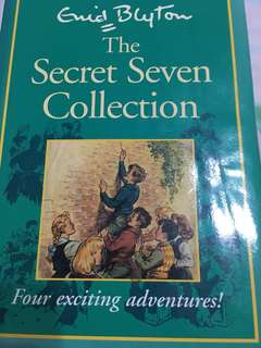 Enid Blyton Secret Seven 4-IN-1