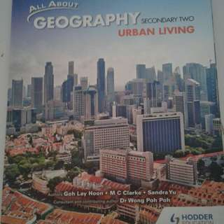 Geography textbook for Sec 2