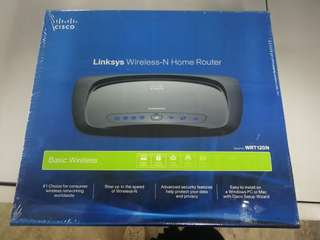 Linksys Wireless-N home router (Cisco) WRT120N