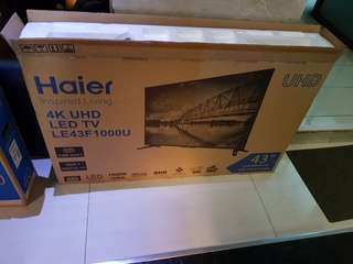 haier 43 led tv