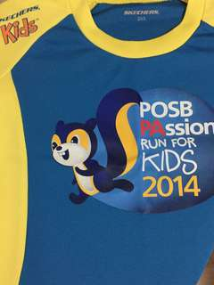Skechers POSB PAssion Run for Kids T shirt