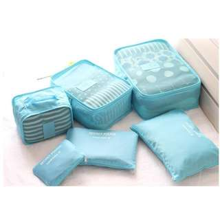 PRE-ORDER 6pcs/Set Travel/Home Storage Bags Clothing Organizer Bag