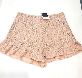 BNWT Lace Shorts