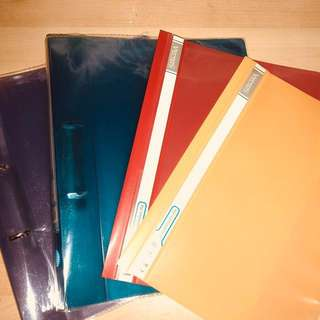 Assorted Coloured files