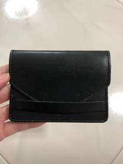 Brandy melville leather card holder/case