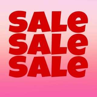 Big sale menghabiskan barang