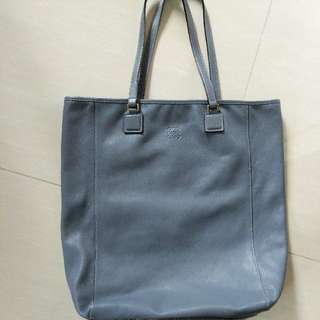 Flash Deal $450! Loewe Tote Bag In Buttery Soft Grey Calf