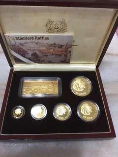 999.9 gold proof coins 狮子头纪念币。👍👍👍🤠🤠🤠