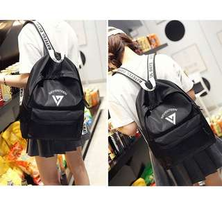(READYSTOCK)KPOP BTS SEVENTEEN BACKPACK CUTE BAG SHOULDER