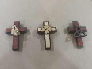 Cross Fridge Magnets <3 weeks left 🌺>