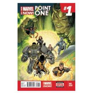 ALL NEW MARVEL NOW POINT ONE #1 (1st Full Appearance Kamala Khan as Ms. Marvel)